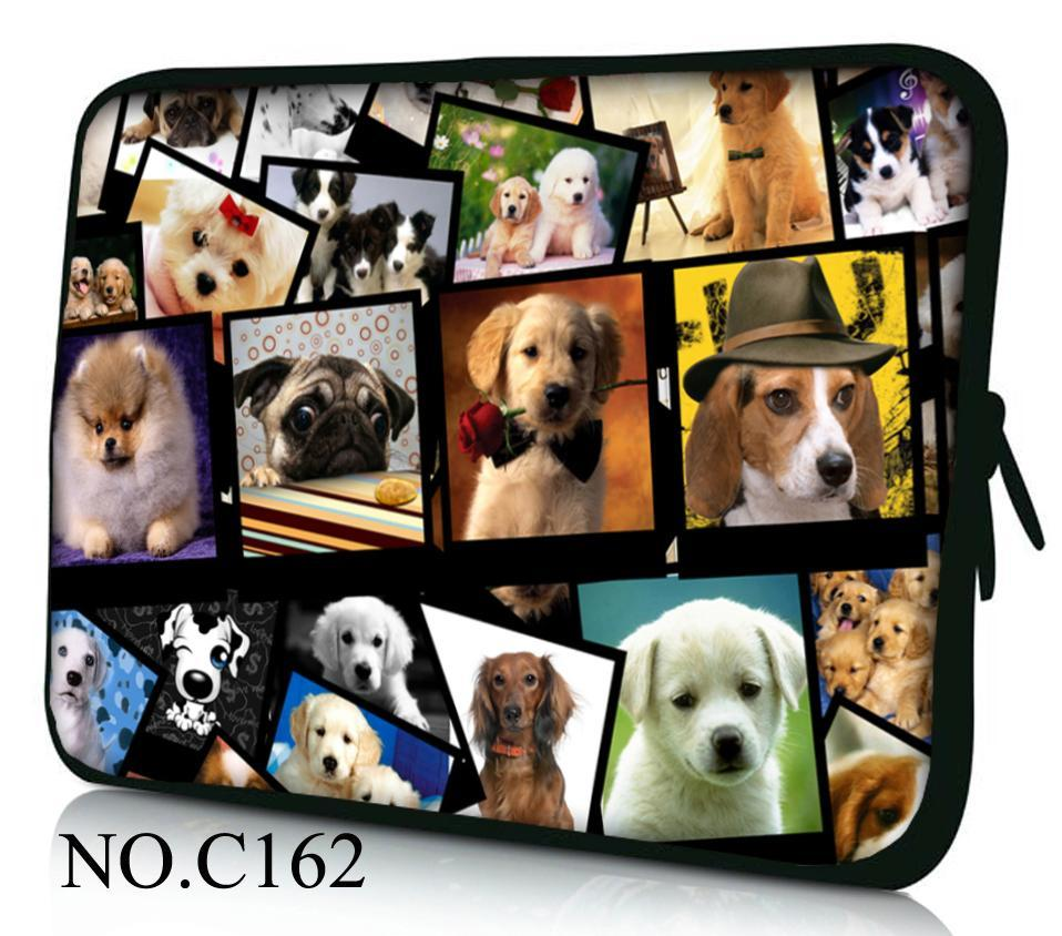 Dogs Laptop Bag 7 10.1 11.6 12 13 14 15.4 <font><b>15.6</b></font> 17 <font><b>Notebook</b></font> sleeve tablet protective case PC cover <font><b>pouch</b></font> For Asus HP Acer Lenovo image