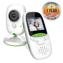 Neng bezprzewodowa elektroniczna niania kolorowa kamera ochrony rozmowa dwukierunkowa monitorowanie temperatury kołysanka Walkie Talkie opiekunka do dziecka