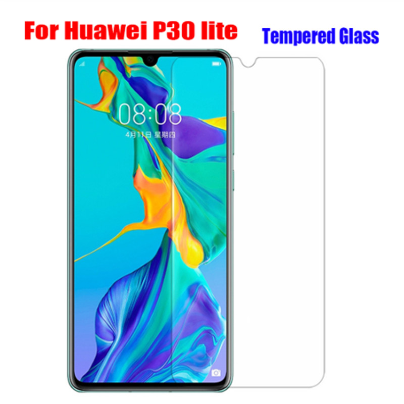 2pcs Tempered <font><b>Glass</b></font> for <font><b>Huawei</b></font> P30 lite P20 <font><b>Pro</b></font> P Smart 2019 <font><b>Mate</b></font> <font><b>20</b></font> lite Screen Protector Film on Honor 9x 8X 10i Safety <font><b>Glass</b></font> image