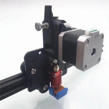 1.75 pełny zestaw zmontowany Creality Ender 5 BMG bezpośredni napęd wytłaczarki Upgrade kit podwójny bieg napęd bezpośredni elastyczny adapter wytłaczarki