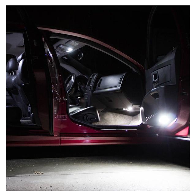 9 Bulbs White Canbus Interior LED Car Light Kit Fit For Chrysler 200 2011 2012 2013 2014 Map Dome Cargo License Lamp No Error 5