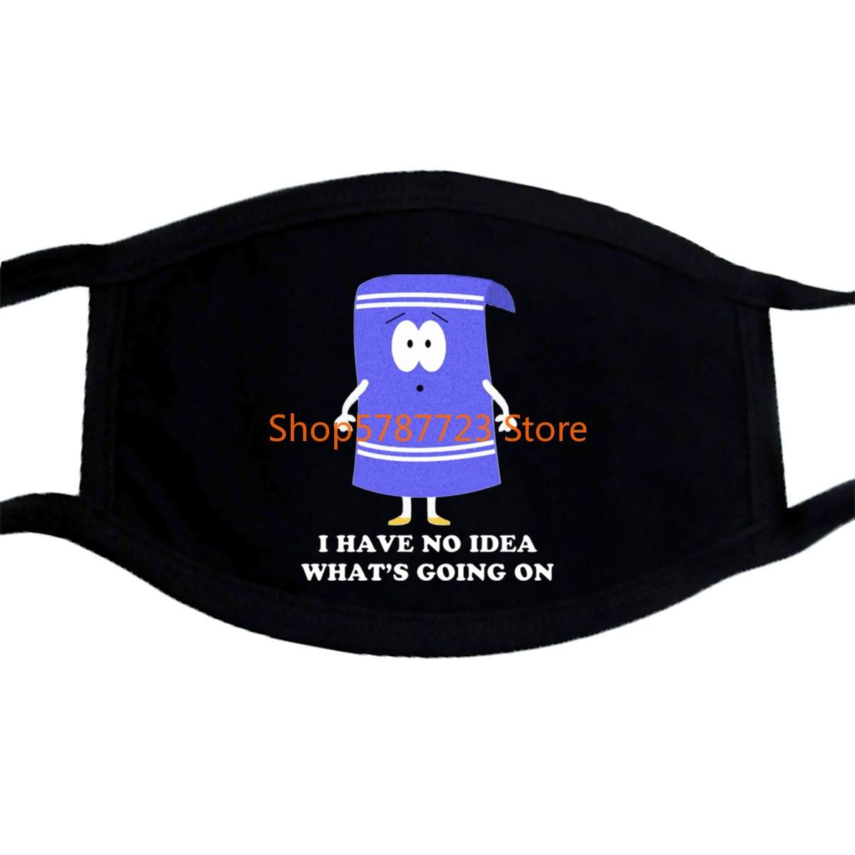 Southpark Towelie No Idea Mask Men