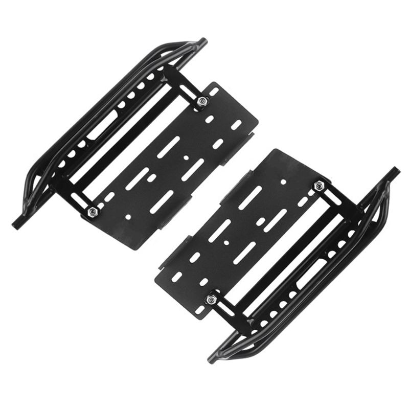 Image 2 - 1pair Metal Side Pedal and Receiver Box For 1/10 Jeep Cherokee Wrangler Axial Scx10 90046 90047 90048 95AEParts & Accessories   -