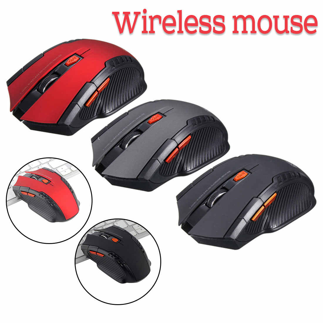 Computer Peripherals 2.4ghzmini mouse computer mouse hand game wireless mouse Au6 wireless gaming mouse