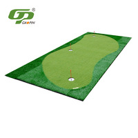 GP Manufacturers Direct Selling Golf Model Green Rubber Bottom Green Indoor Artificial Green Putting Practice