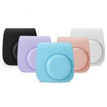 Pour Fujifilm Instax Polaroid mini11 mini 11 sacs à main épaule caméra étui de protection motifs colorés en cuir sac photo