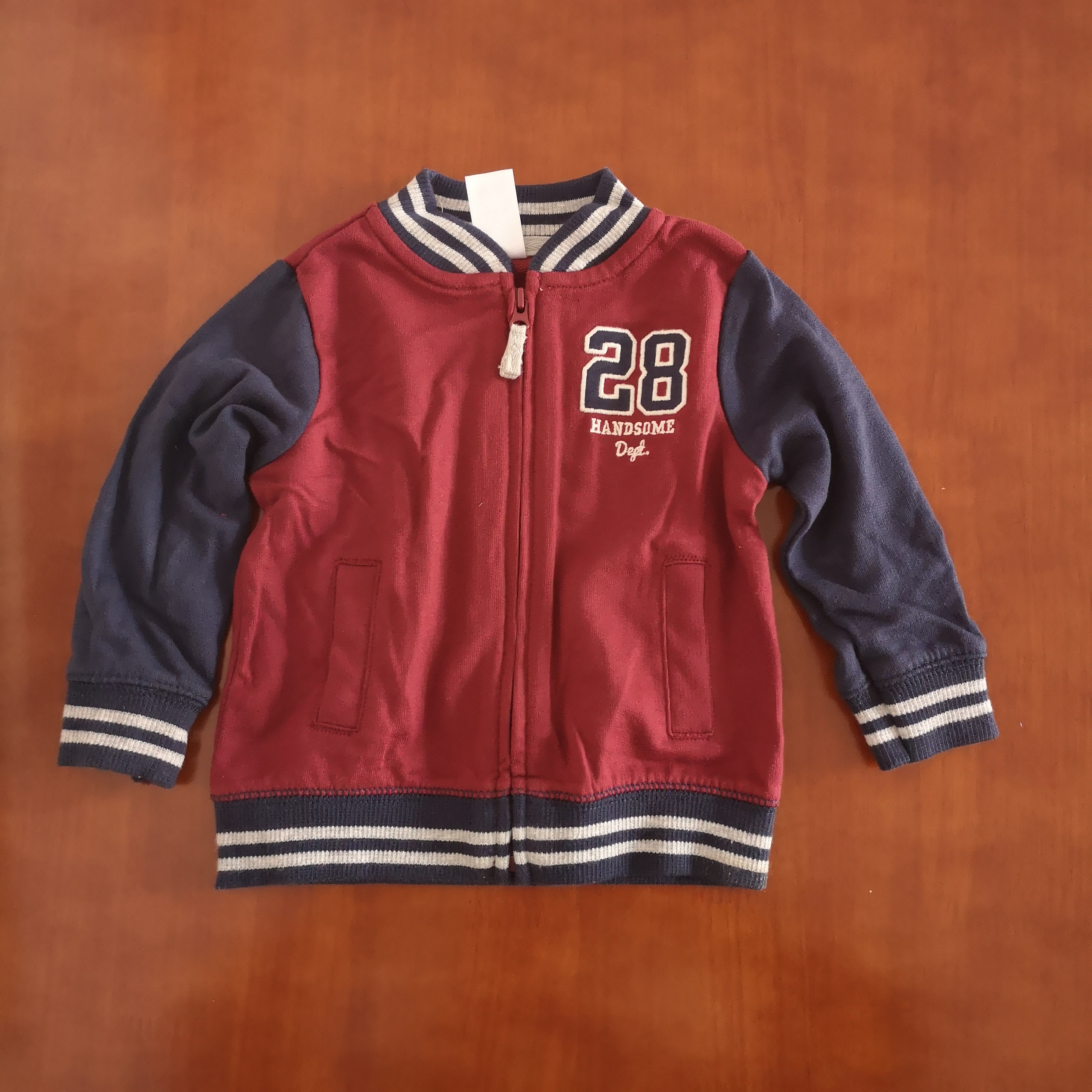 Newborn Cotton Coat Baby's Baseball Uniform Jacket