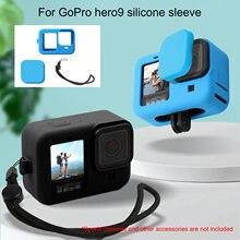 Черный мягкий силиконовый защитный чехол для экшн камеры аксессуары