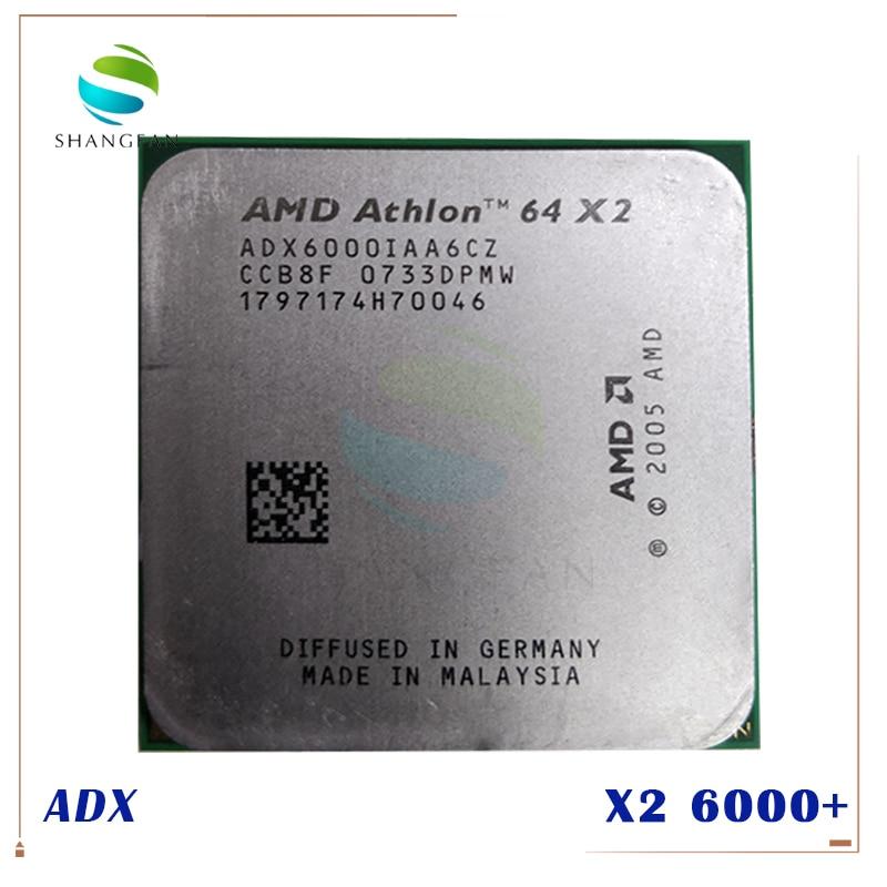 Free Shipping For Amd Athlon X2 6000 X2 6000 3ghz Adx6000iaa6cz Dual Core Cpu Processor Socket Am2 940pin Processor Socket Am2 Socket Am2cpu Processor Aliexpress