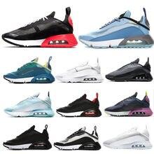 2090 tênis de corrida dos homens formadores das mulheres chaussures lobo cinza preto uva pura platina triplo branco designer tênis esportes