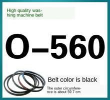 O-560 washing machine belt O-type genuine drive triangle universal accessories anti-slip