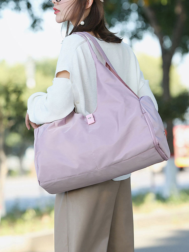 Bag Gym Fitness-Bags Yoga-Mat Sporttas Training Outdoor Women Travel Scione Nylon