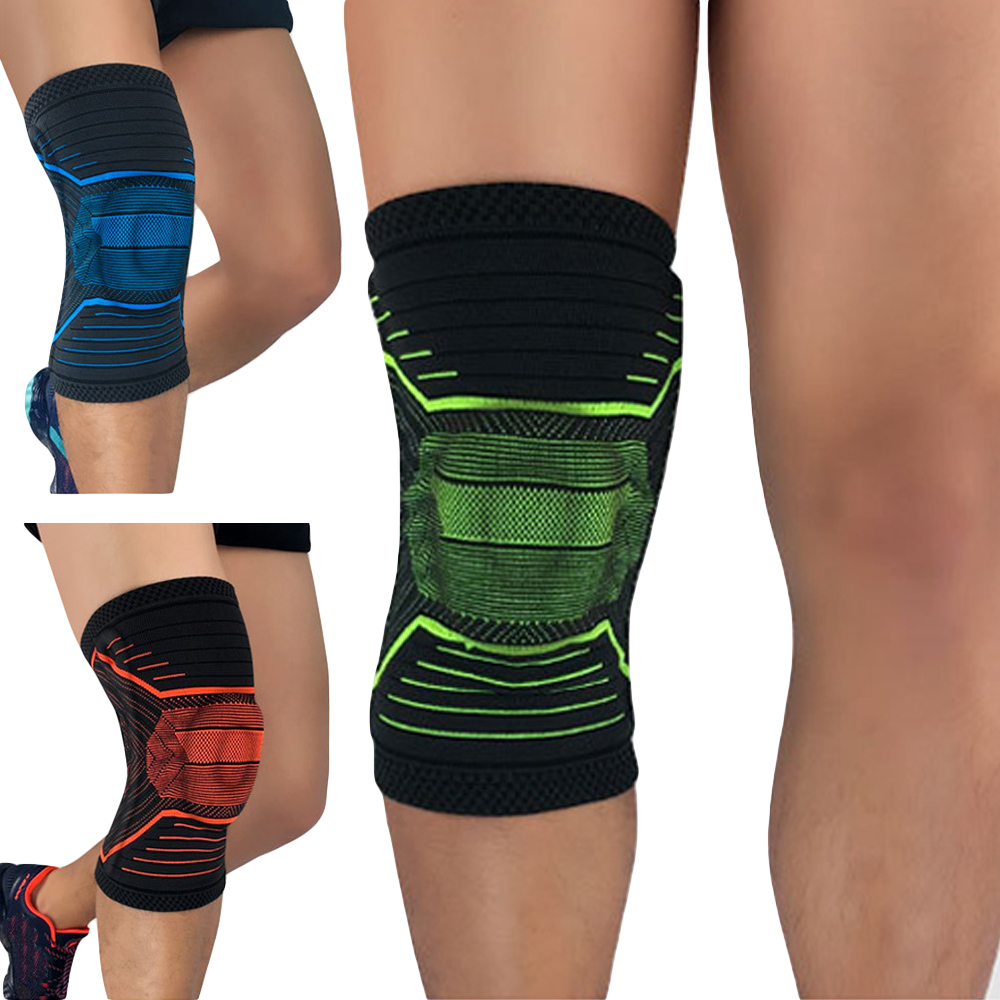 Sports Knee Pads Protection Support Fitness Basketball Elastic Knee Sleeve