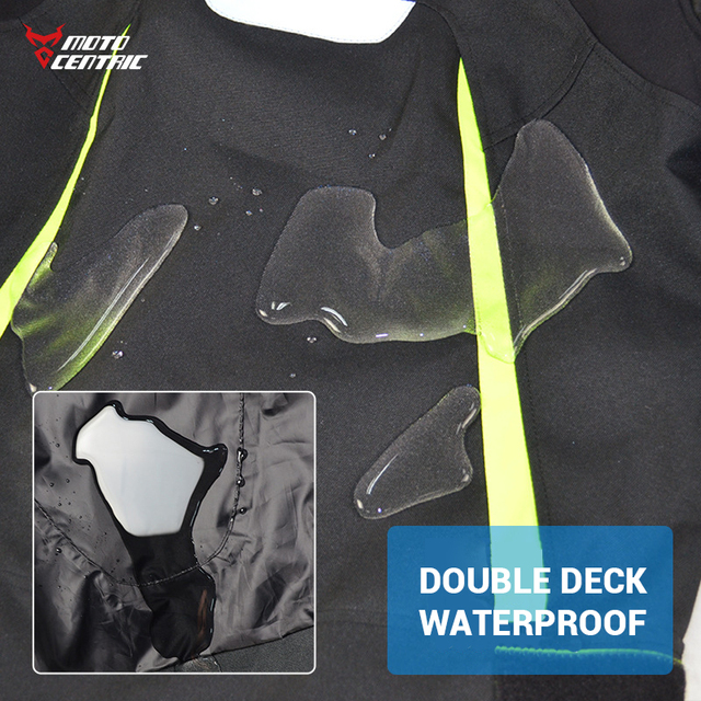 Waterproof Motorcycle Jacket Moto Jacket +Pants Riding Racing Motorbike Clothing Moto Suit for 4 Season 3