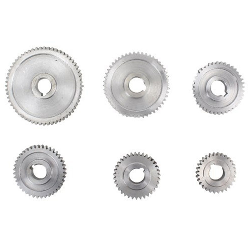 18 pièces/ensemble CJ0618 engrenages en métal Mini tour engrenage Machine-outil de découpe en métal - 2