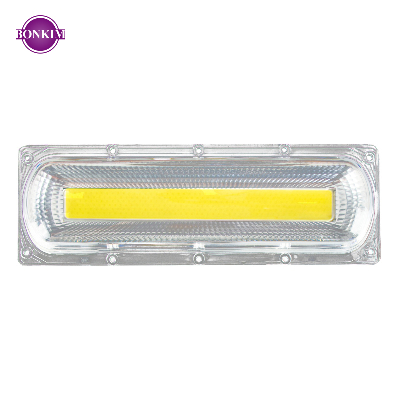 LED COB Smart Chip With Lens Reflector Silicone Ring 30W 50W 70W 100W 150W Cold Warm White AC 110V 220V Suitable For Warehouse