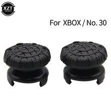 2 pçs antiderrapante silicone analógico polegar vara apertos 3d capa para xbox gamepad boné joystick capes polegar controlador acessório