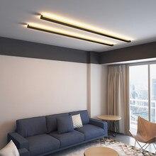 Minimaliste créatif plafonnier moderne LED fond plafonnier salon chevet en aluminium plafonnier