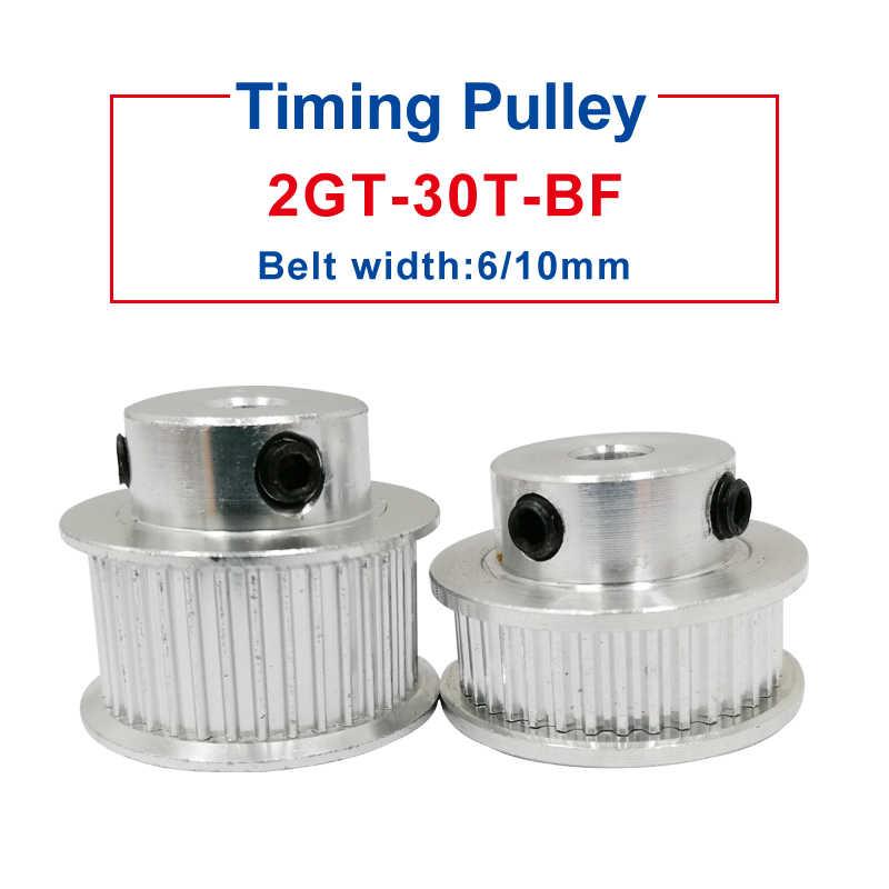 2GT-25T Timing Belt Pulley Gear Wheel 4//5//6//6.35//8mm Bore For 6//10mm Width Belt