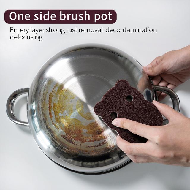 Magic Sponge Removing Rust  Clean Cotton Wipe Cleaner Kitchen Tool Kitchen accessories wash pot  gadgets
