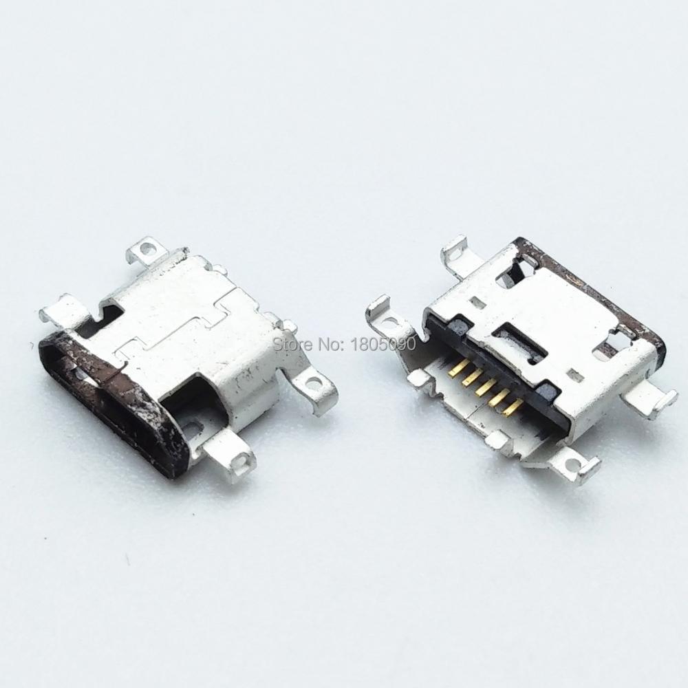 50pcs Micro USB Jack Charging Socket Port Plug Dock Connector For Motorola Moto G G4 XT1622 G4 Plus XT1642 XT1625