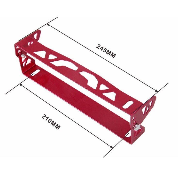 Car modification universal accessories license plate frame pattern license plate frame adjustable aluminum alloy license plate f in License Plate from Automobiles Motorcycles