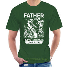 Father And Son Riding Partner For Life Popular Tagless Tee T-Shirt @098582
