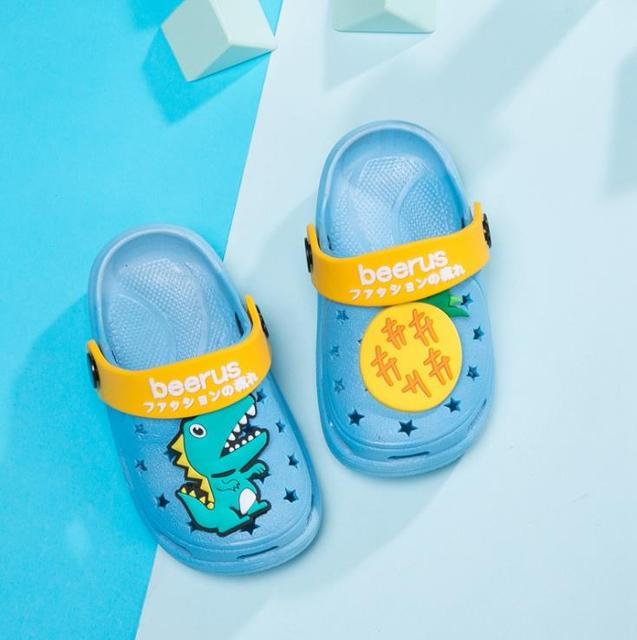 Hooyi Summer Hole Children Sandals EVA Boys Slippers