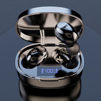 Wireless Earphones Noise Canceling 2200mAh Charging Box Sports Waterproof Bluetooth 5.1 Wireless Earphones for All Smart Phone