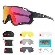 Photochromic ciclismo óculos uv400 óculos de esportes ao ar livre tr90 quadro polarizado ciclismo óculos de sol dos homens mtb bicicleta de estrada