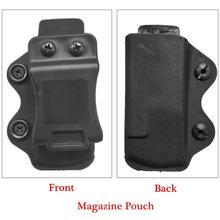 Glock 17 Single Magazine Pouch Tactical Hunting Fast Release Gun Holster Mag Pouch