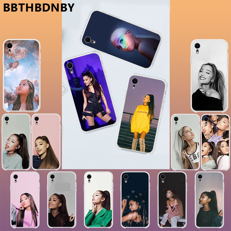Ariana grande cantante for <font><b>iphone</b></font> 11 pro coque 디자인 전화 <font><b>hoesje</b></font> for <font><b>iphone</b></font> 11 pro <font><b>xs</b></font> max 8 7 6 6 s plus <font><b>x</b></font> 5 5 s se xr 커버 image