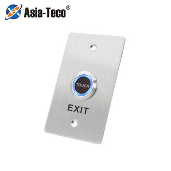 Drzwi ze stali nierdzewnej przycisk z dzwonkiem przełącznik Panel dotykowy do kontroli dostępu przełącznik do drzwi Slim Exit przycisk zwalniający tanie i dobre opinie LUCKING DOOR CN (pochodzenie) 115*70*30mm ST870 Przycisk wyjścia