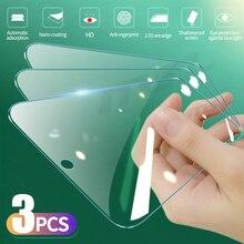 3 قطعة الزجاج المقسى ل شاومي Redmi نوت 10 7 8 9 برو ماكس 9S 10S 8T حامي الشاشة ل Redmi 7 8 8A 9A 9C 9T الزجاج واقية