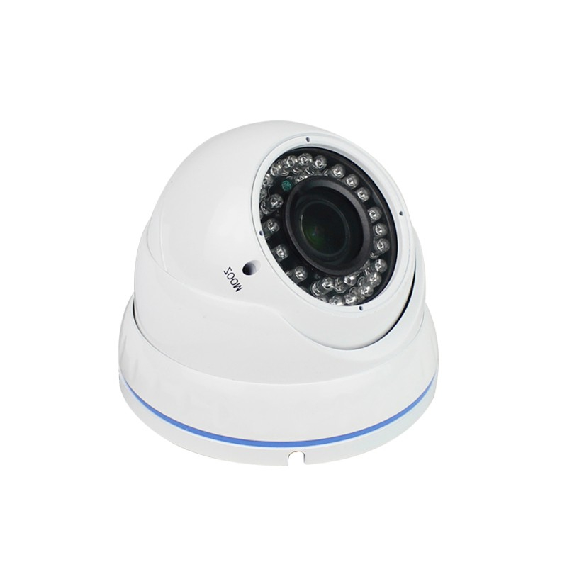 4xZoom Manual AHD Dome Security Camera 2MP 4MP Indoor 2.8-12mm Varifocal AHDTVICVICVBS 4 IN 1 Analog Infrared CCTV Cameras 2