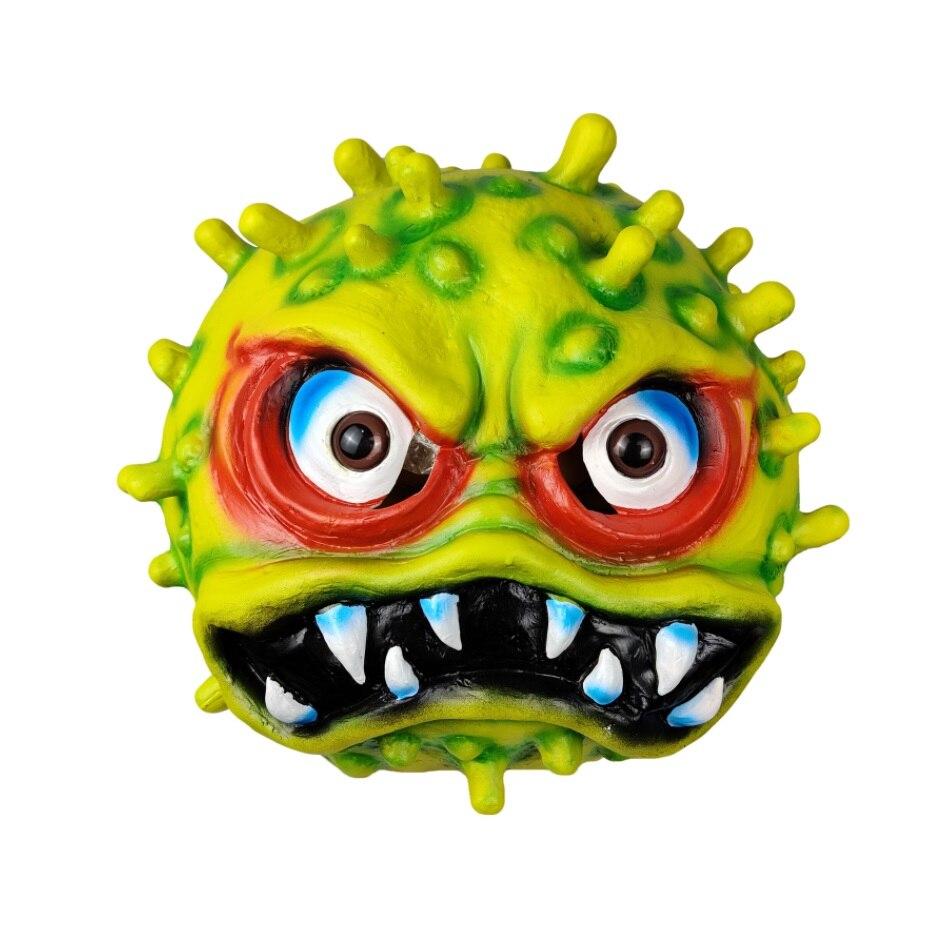 Emulsion Halloween Virus Mask Horror Props Funny Toys