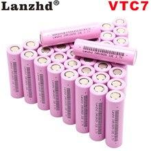 Lot de 10 à 40 batteries lithium-ion, rechargeables, 18650V, 3.7v, 30a, 3.7, 18650