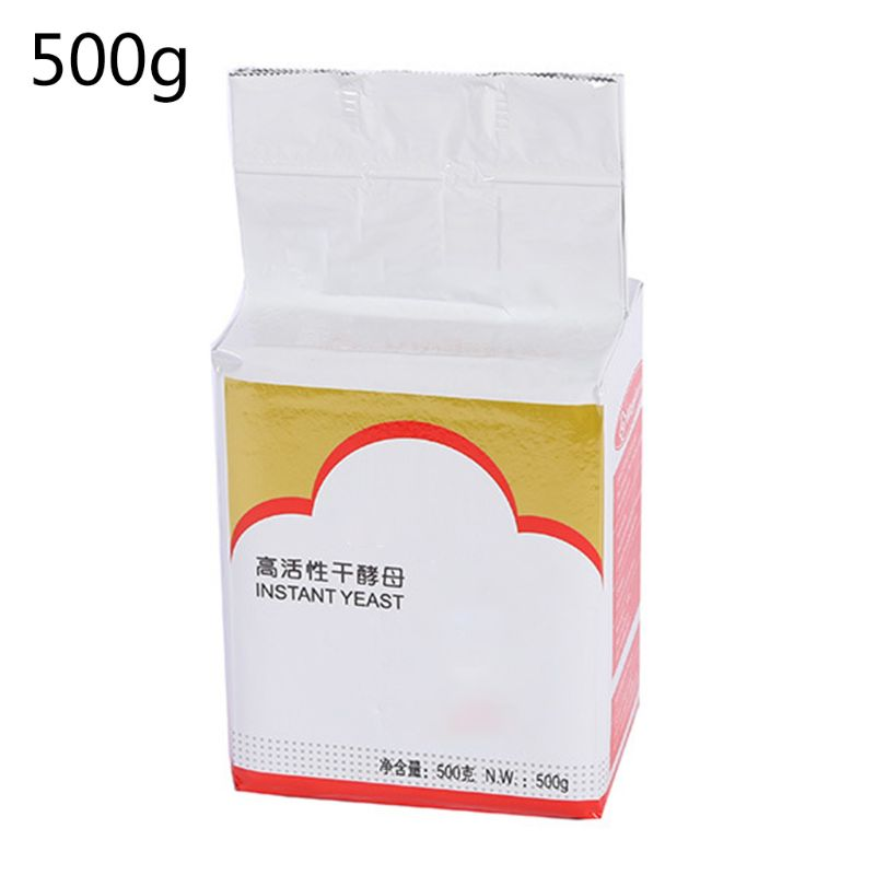 500g Bread Yeast Dessert High Active Dry Yeast  Kitchen Cake Baking Supplies