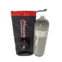 AC109005 Scuba Pcp Bag Aluminum Oxygen Tank Pcp Air Rifle 9L 4500Psi Carbon Fiber Tank Underwater Gun Speargun Spearfishing