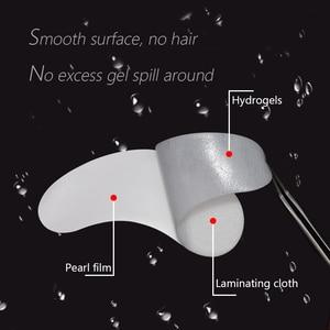 Image 5 - 200pairs/pack Eyelash Pad Gel Patch Grafting Eyelashes Under Eye Patches For Eyelash Extension Paper Sticker Wraps Makeup Tools