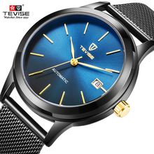 TEVISE Automatic Mechanical Men's Watches Men Sport Watch Business Casual Wristwatch Male Clock Automatico Relogio Masculino aesop business watch men automatic mechanical sapphire crystal blue wristwatch auto date male clock relogio masculino hodinky 46
