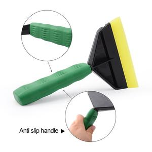 Image 2 - FOSHIO Handle Squeegee for Car Cleaning Tool Water Wiper Snow Shovel Ice Scraper Carbon Fiber Vinyl Wrap Window Tint Tool Washer