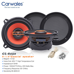 Carwales High Quality 5.25 Inch 2-way Coaxial Auto Subwoofer Tweeter Car Audio Speaker Sound System 13 Cm Loudspeaker In The Car