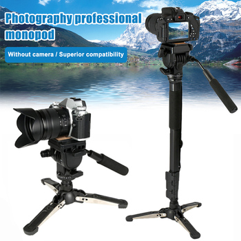 Monopod Kit Camera Telescopic Video Monopods Aluminum Alloy Stand for DSLR Video Cameras Camcorders SGA998