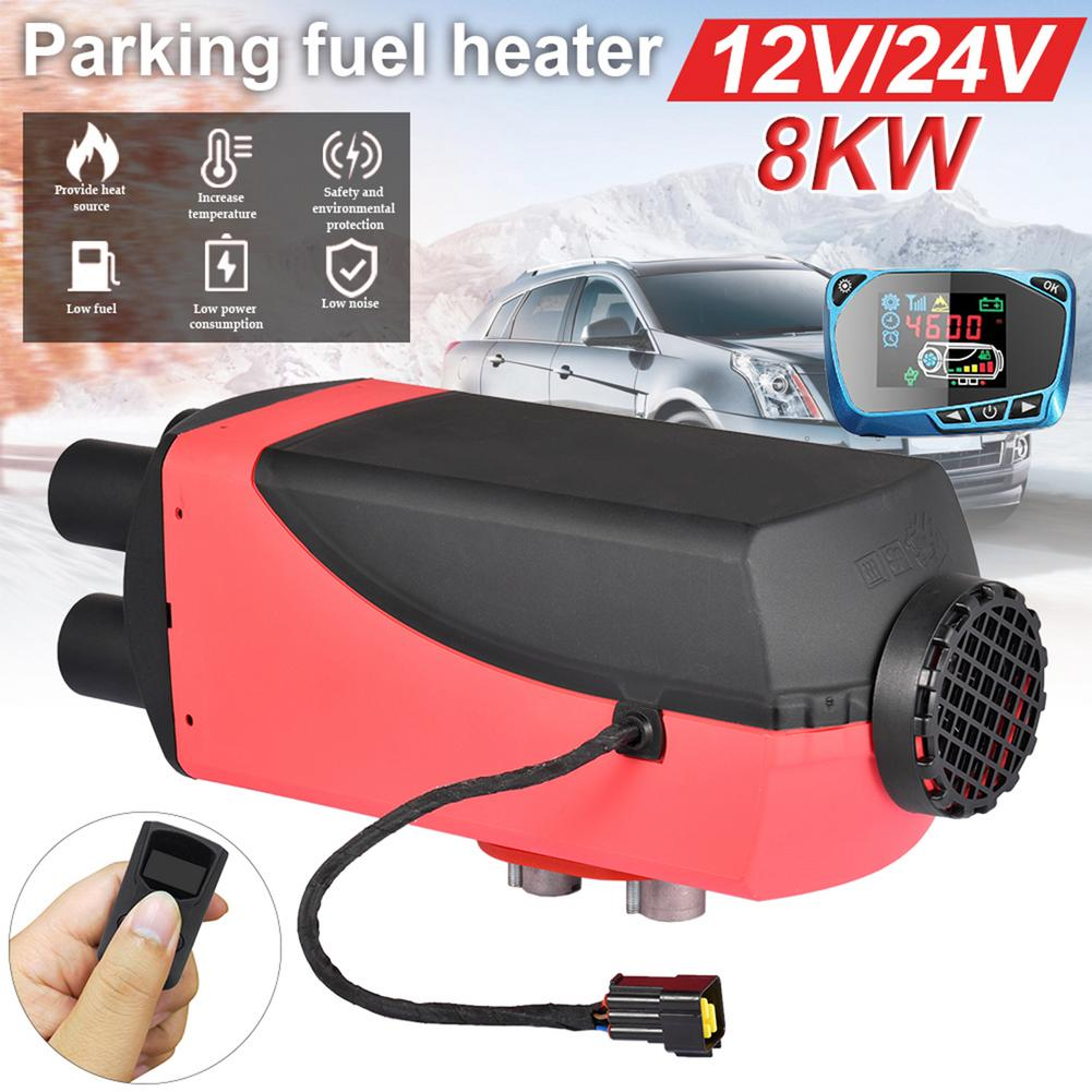 12V/24V 1 8KW Car Heater Parking Heater For Boats Bus Car Heater With Remote Control And Silencer For Free Air Diesel Heater|Heating & Fans| - AliExpress