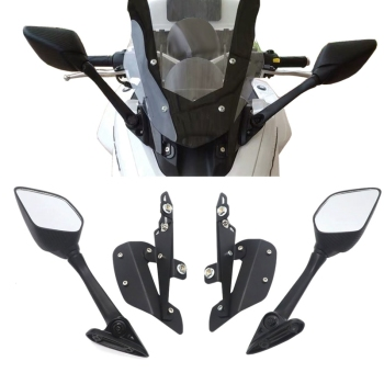 цена на For YAMAHA NMAX 155 NMAX 125 Motorcycle Rearview Mirrors Windshield Bracket Modified Motorcycle Accessories
