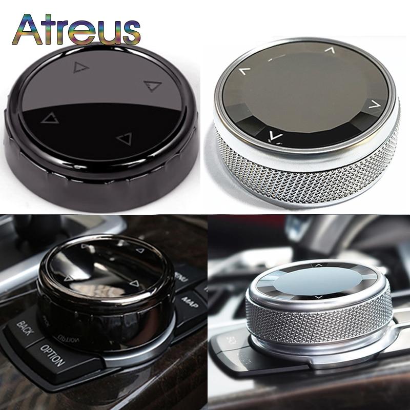 Хрустальная Автомобильная Кнопка мультимедиа кнопка для BMW E90 E92 E93 E60 F30 F10 G20 G30 F34 X5 G05 F15 E70 X3 G01 F25 X4 G02 X1 аксессуары