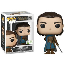 цена на FUNKO POP figures Game of Thrones ARYA STARK figura PVC Action Figure Collection Model Gift for Children Vinyl toys Dolls 10CM