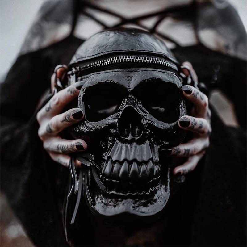 Gothic Skull Handbag