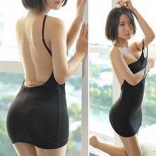 2019 Women One-pieces Lingerie Slim Fit Bodycon Backless Solid Color Underwear for Couples DC116